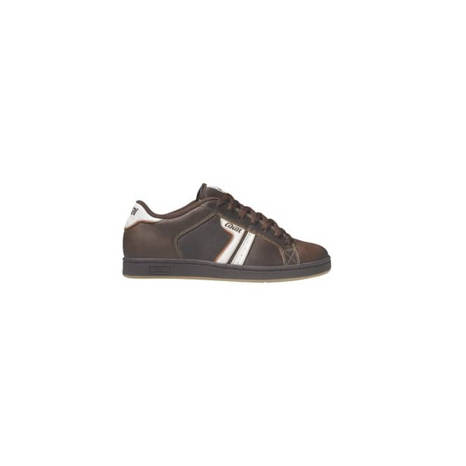 lakai lakoston brown leather mens skate shoes from