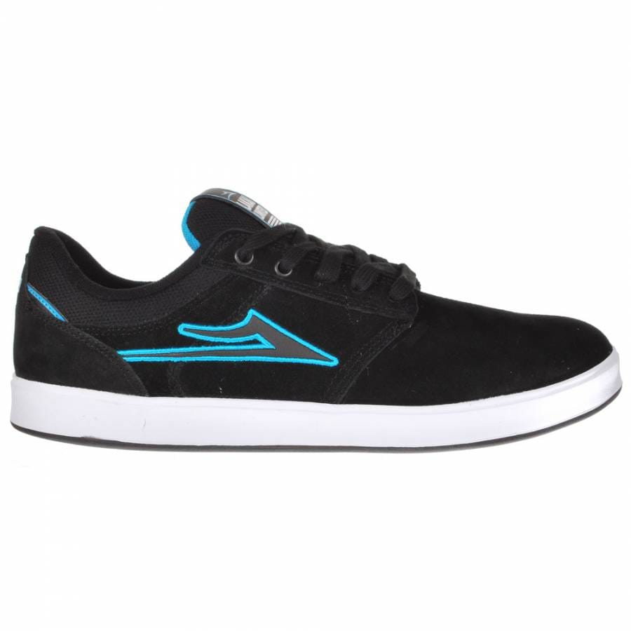 lakai lakai linden skate shoes black suede lakai from