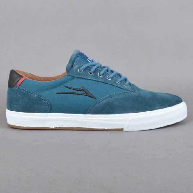 Lakai Mayfair Skate Shoes - Ink Blue Suede