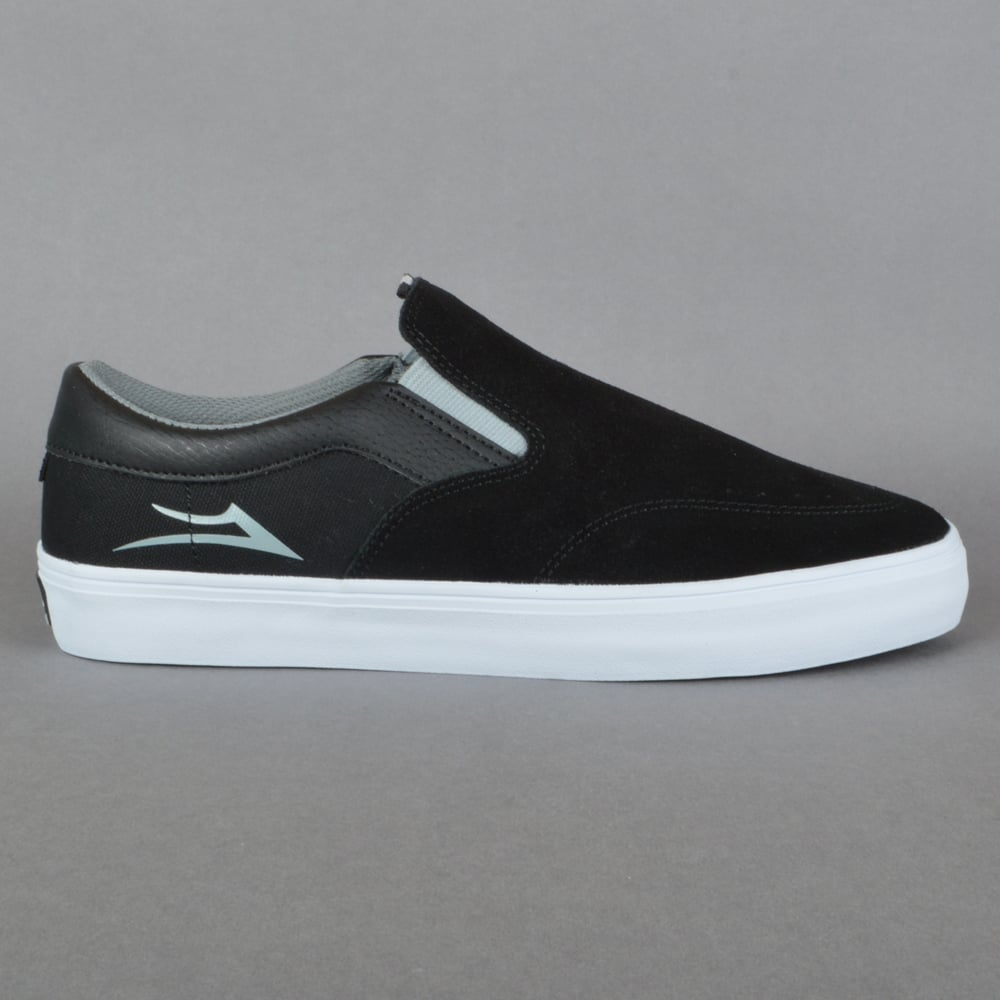 b6440ae9a9f Lakai Owen Skate Shoes - Black Grey Suede - SKATE SHOES from Native ...