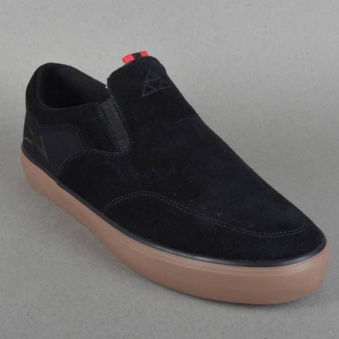 Owen Skate Shoes - Black/Gum Suede Fourstar