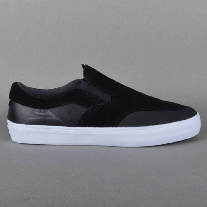 aeae91652ba Lakai Owen Skate Shoes - Black Suede - SKATE SHOES from Native Skate ...