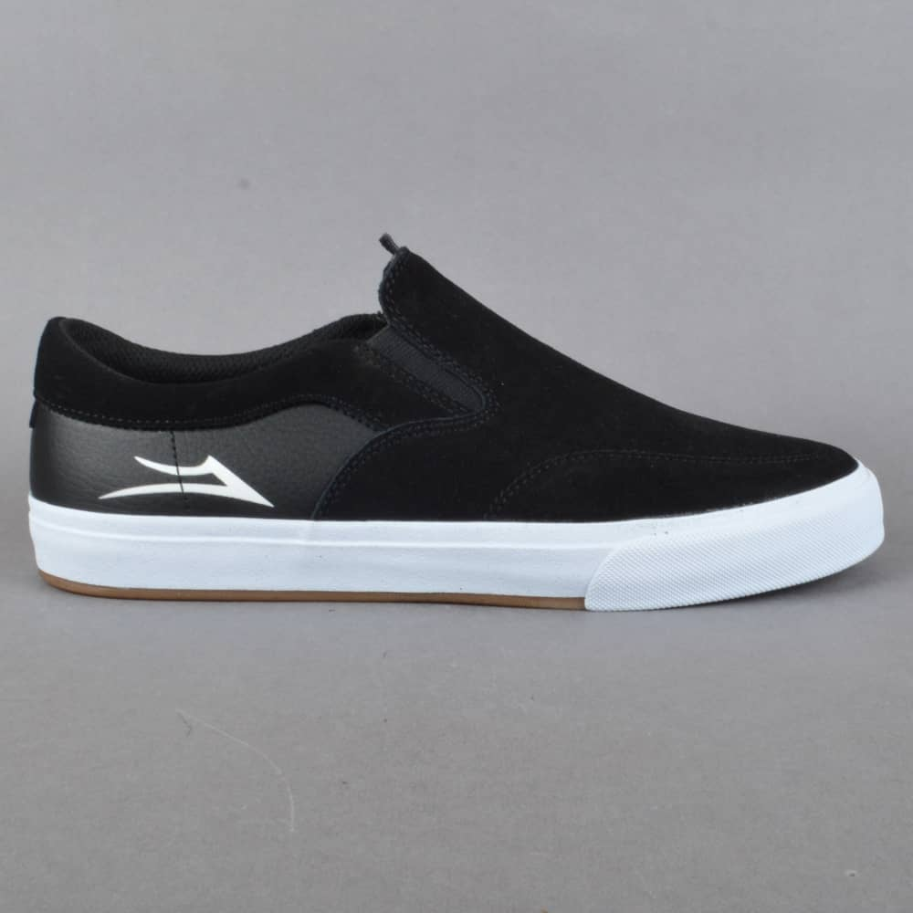 13c21ba1079 Lakai Owen VLK Skate Shoes - Black Suede - SKATE SHOES from Native ...
