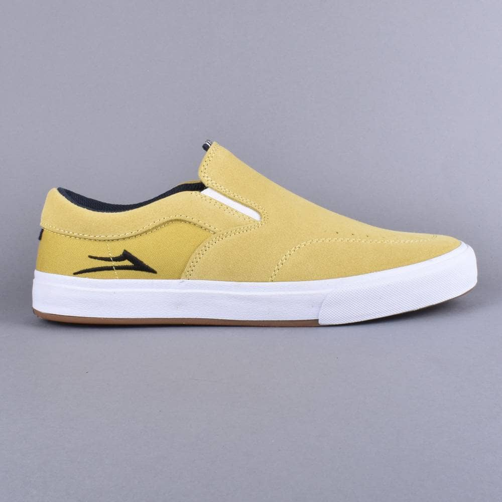 e740e42f799 Lakai Owen VLK Skate Shoes - Dusty Yellow Suede - SKATE SHOES from ...