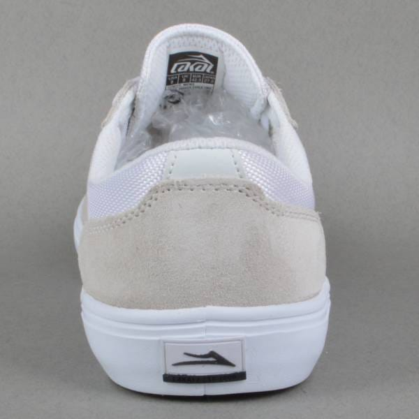 Parker Chalk Pack Skate Shoes White White Suede