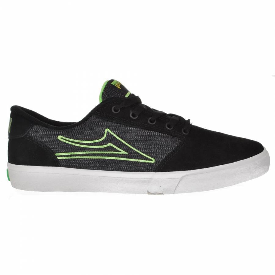 lakai lakai pico skate shoes black suede creature