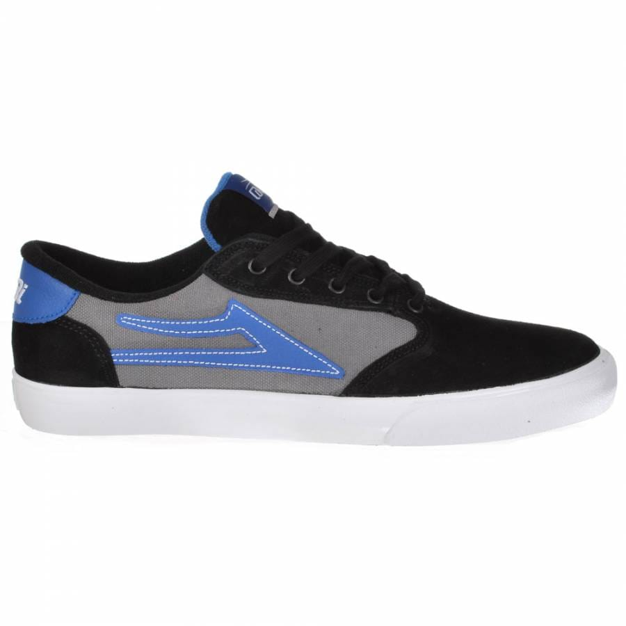 lakai lakai pico skate shoes black grey suede lakai