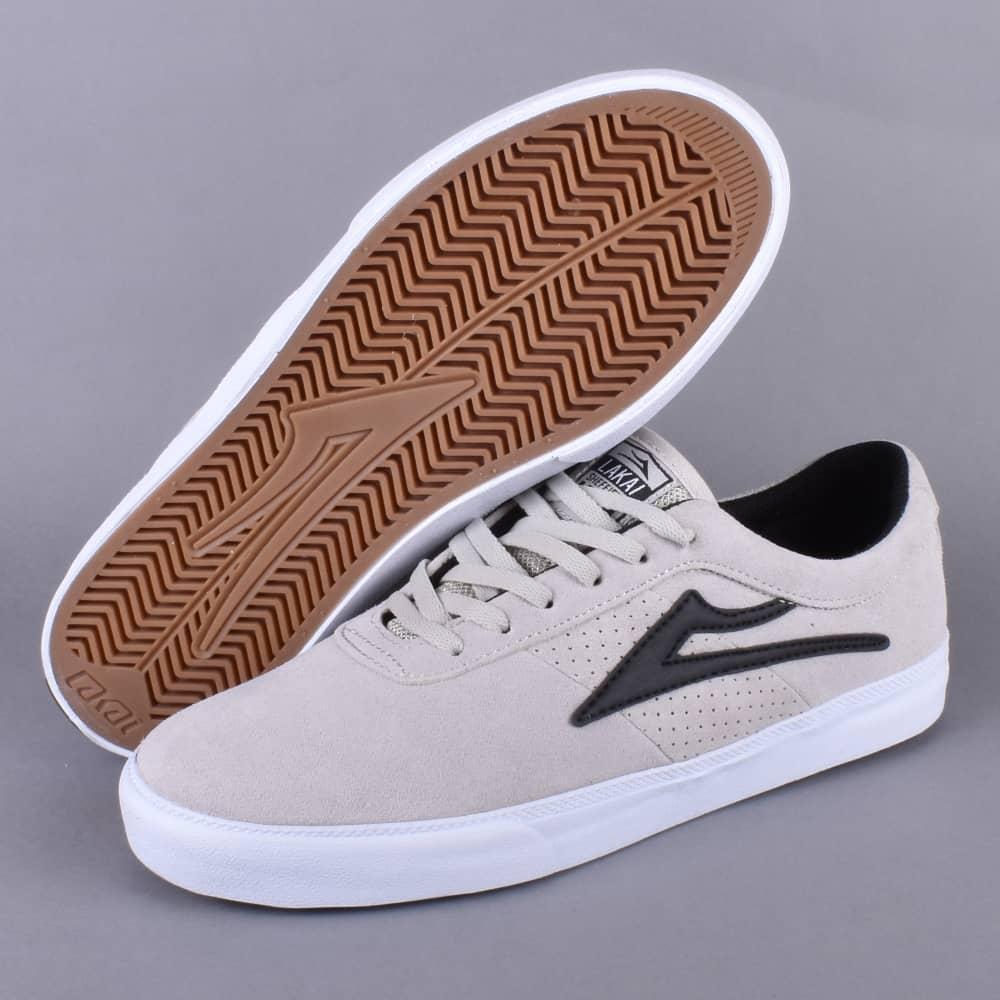 Lakai Sheffield Skate Shoes - White