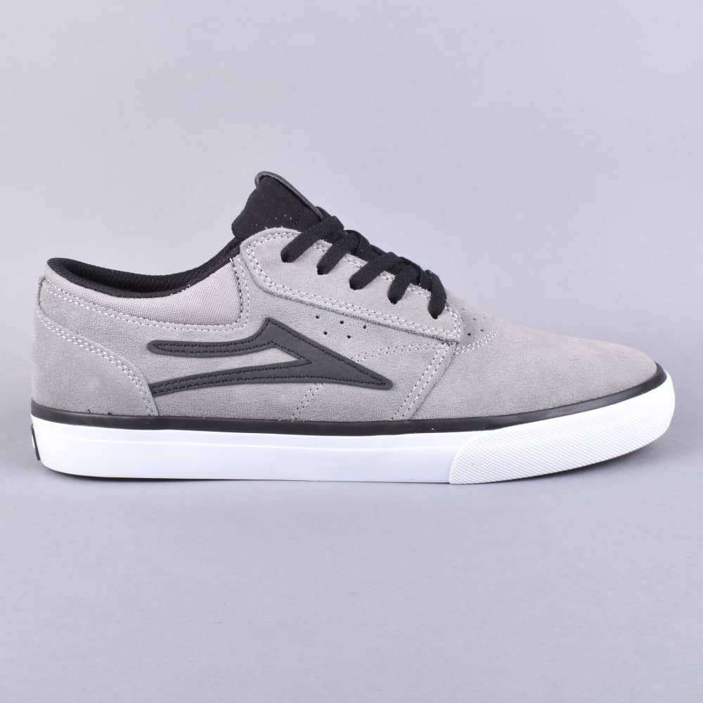 323536c6bc Lakai x Hard Luck Griffin Skate Shoes - Grey Black Suede - SKATE ...