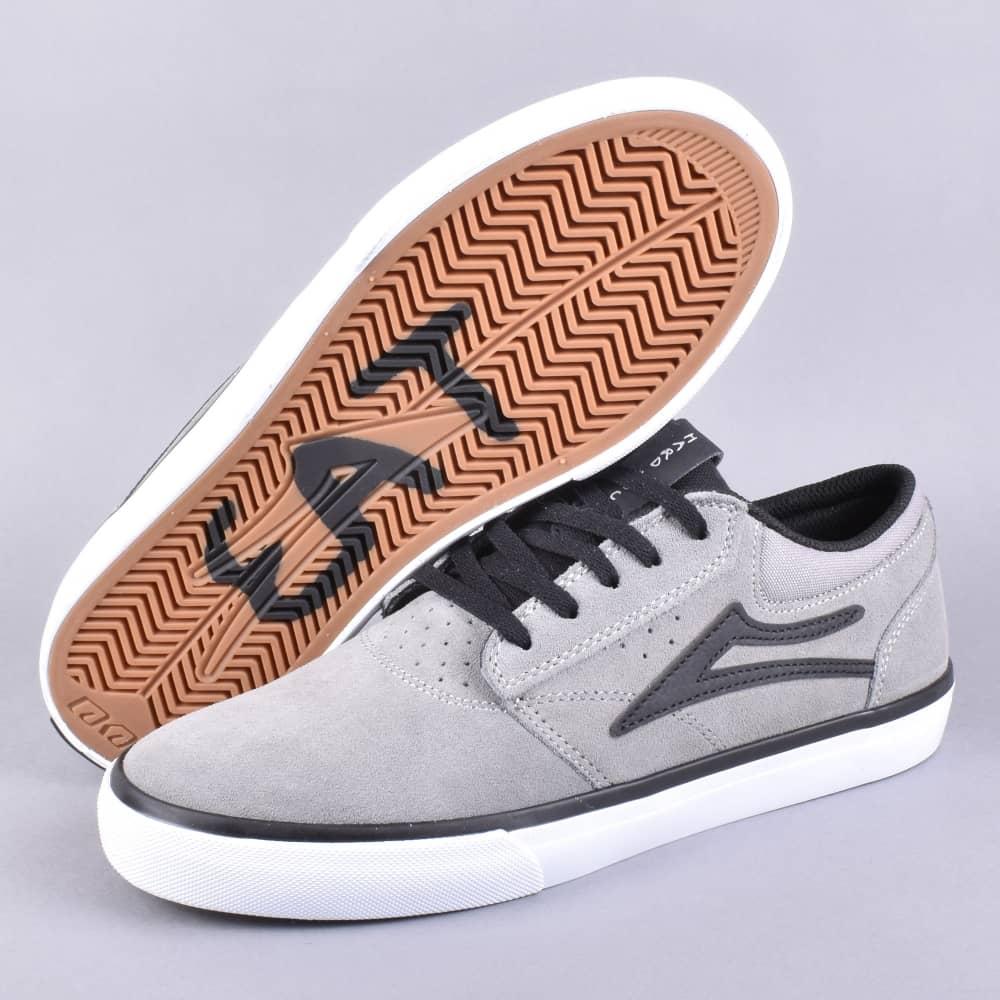0a2ec1c86abc Lakai x Hard Luck Griffin Skate Shoes - Grey/Black Suede - SKATE ...