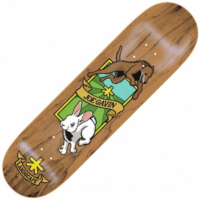 Landscape Skateboards Joe Gavin Chase Skateboard Deck 8.375