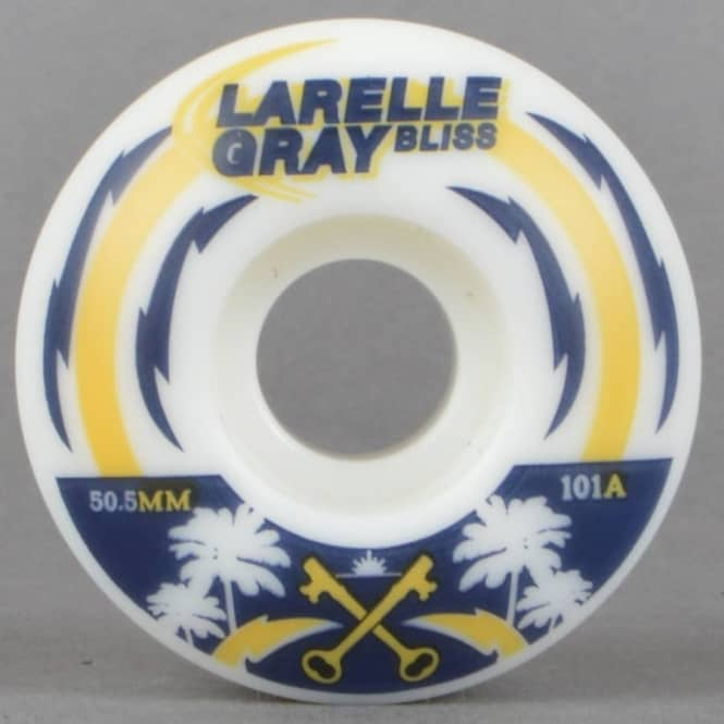 Bliss Wheels Larelle Gray SD LoLo's Skateboard Wheels 50.5mm
