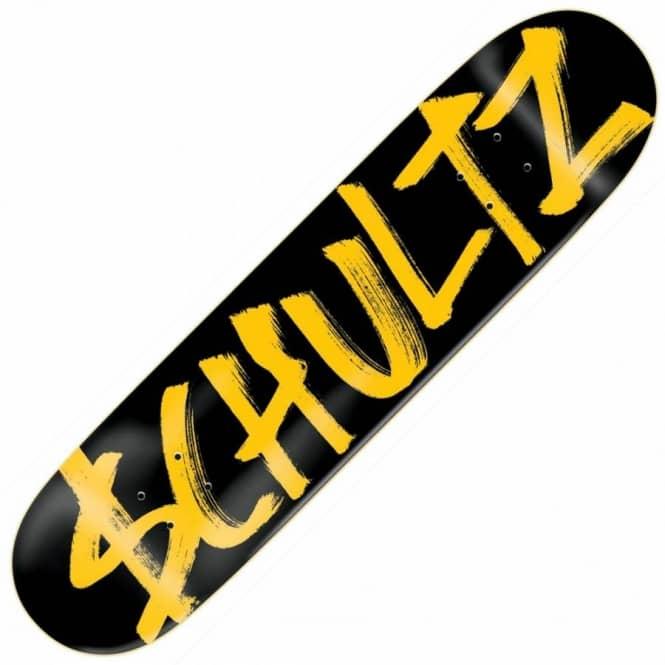 schultz name. slave skateboards $lave schultz brand name skateboard deck 8.125\u0027\u0027 - decks from native skate store uk