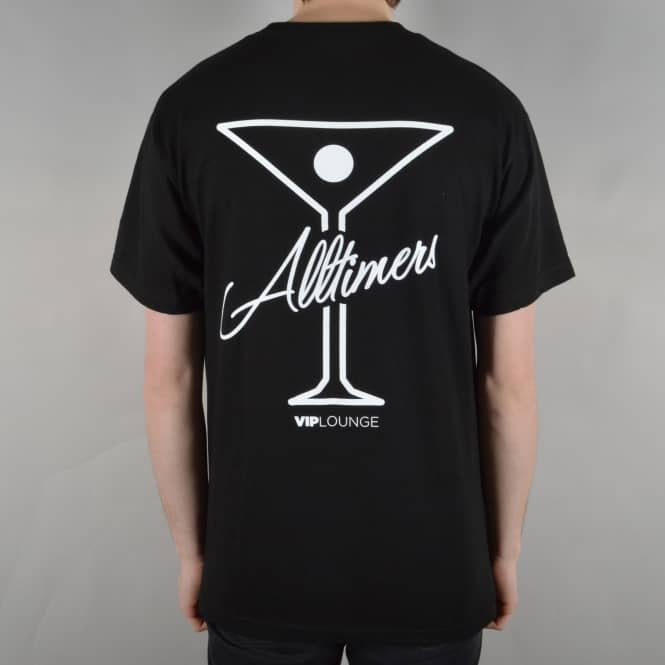 Alltimers League Player Skate T-Shirt - Black