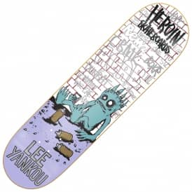 Heroin Skateboards Lee Yankou Imp Skateboard Deck 8.38""