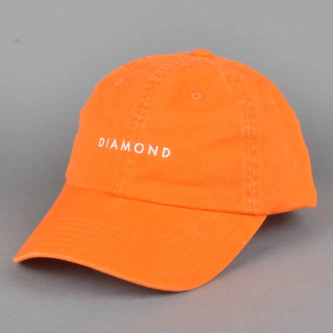 Diamond Supply Co. Leeway Sports Strapback Cap - Orange
