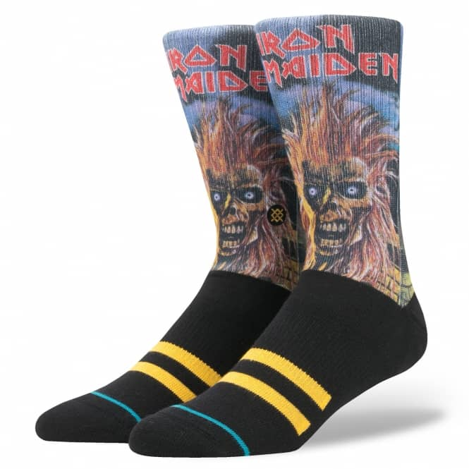 Stance Socks Legends of Metal Iron Maiden Socks - Pair