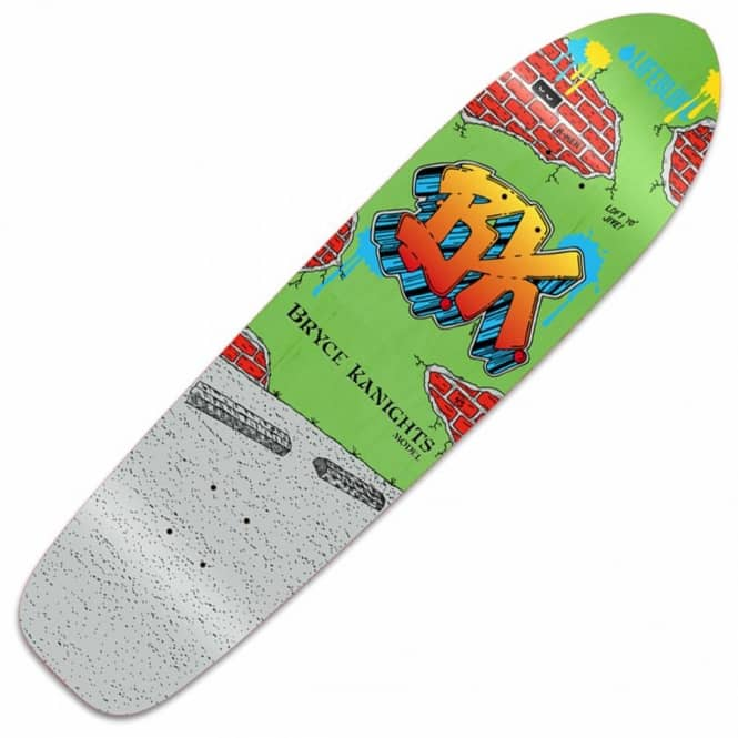 Lifeblood Skateboards Bryce Kanights Graffiti Skateboard Deck 8.625
