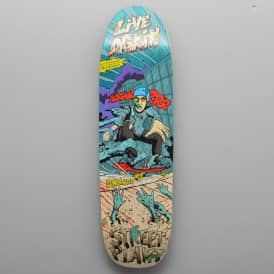 Live Again Skateboard Deck 8.875''