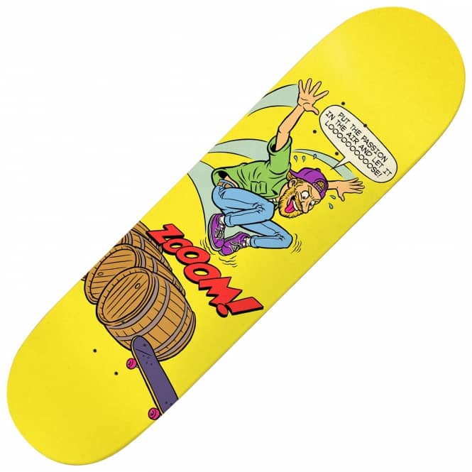 Deathwish Skateboards Lizard King Teen-Ager Skateboard Deck 7.875