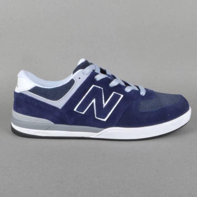 ee76ad32de5de New Balance Numeric Logan-S 636 Skate Shoes - Navy/Grey - SKATE ...