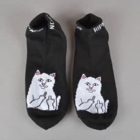 Lord Nermal Ankle Socks - Black