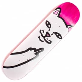 Lord Nermal (Pink Stain) Skateboard Deck 8.25