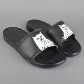 Lord Nermal Slides - Black