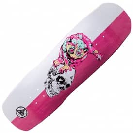 Welcome Skateboards Loris Loughlin On Totem (Pink Stain) Skateboard Deck 8.8""