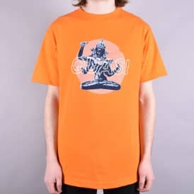 Lotus Skate T-Shirt - Orange