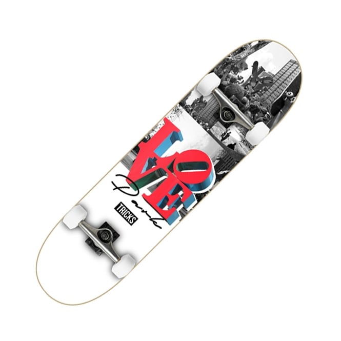 Tricks Skateboards Love Complete Skateboard 7.8