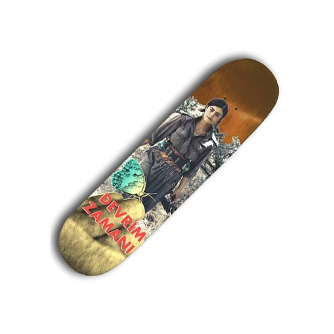 Lovenskate Skateboards Devrim Zamani Skateboard Deck 8.0''