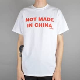 Not Made In China Skate T-Shirt - White