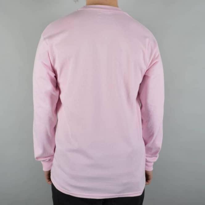 Mens Pink Long Sleeve T Shirt Custom Shirt