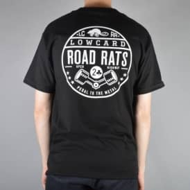 Road Rats Pocket T-Shirt - Black