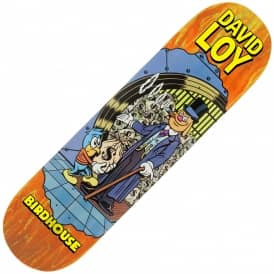 Loy Vices (Orange Stain) Skateboard Deck 8.38