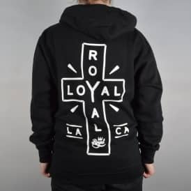 Royal Trucks Loyal Zip Hoodie - Black