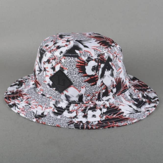 LRG Destination Elsewhere Boonie Hat - White - SKATE CLOTHING from ... de49955910b