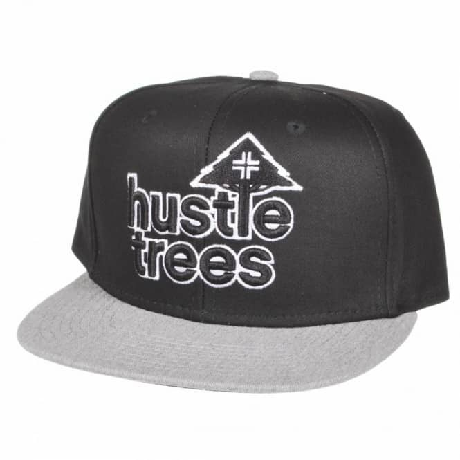 LRG Hustle Trees Snapback Cap - Black - Caps from Native Skate Store UK de18612c275