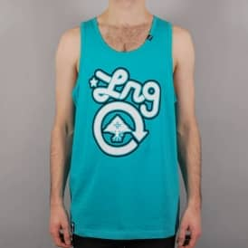 LRG Core Collection One Tank Top - Coral Blue