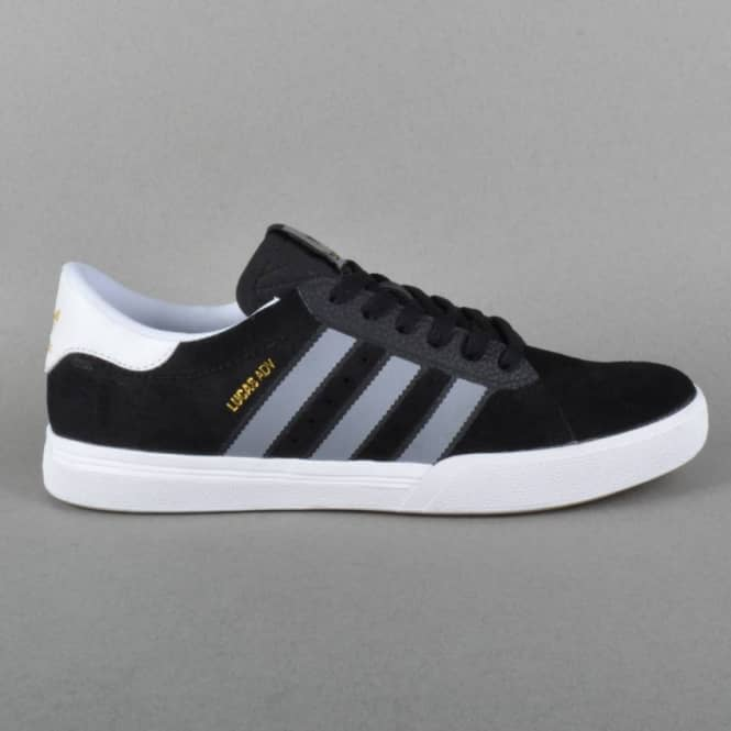 Adidas Skateboarding Lucas ADV Skate Shoes - Core Black/Grey/FTW White