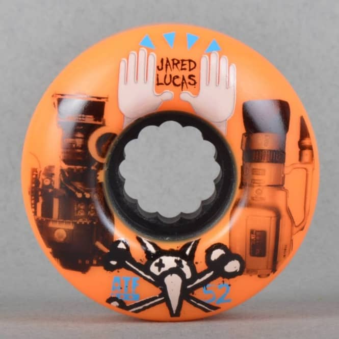 Bones Wheels Lucas Versus DTF Skateboard Wheels 52mm