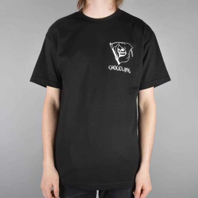 Chocolate Skateboards Lupitas Reaper Skate T-Shirt - Black