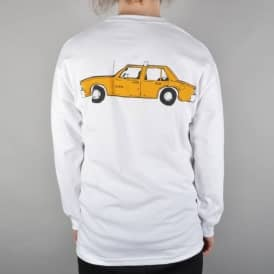 Lurk NYC Taxi Longsleeve T-Shirt - White