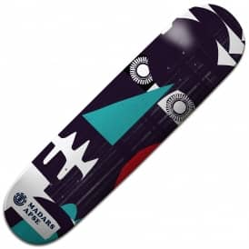 Element Skateboards Madars Masked Skateboard Deck 8.25""