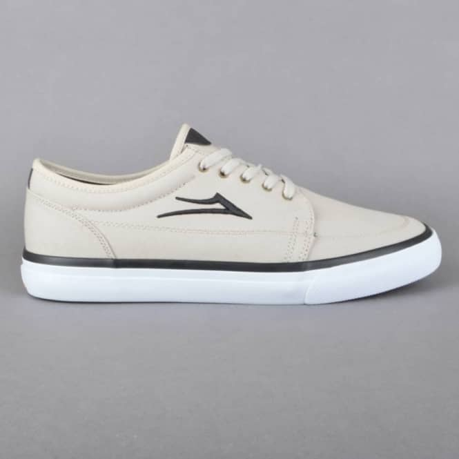 Lakai Madison Skate Shoes - Cream Canvas