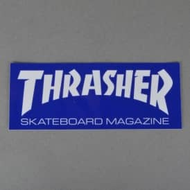 Magazine Logo Large Sticker - Assorted