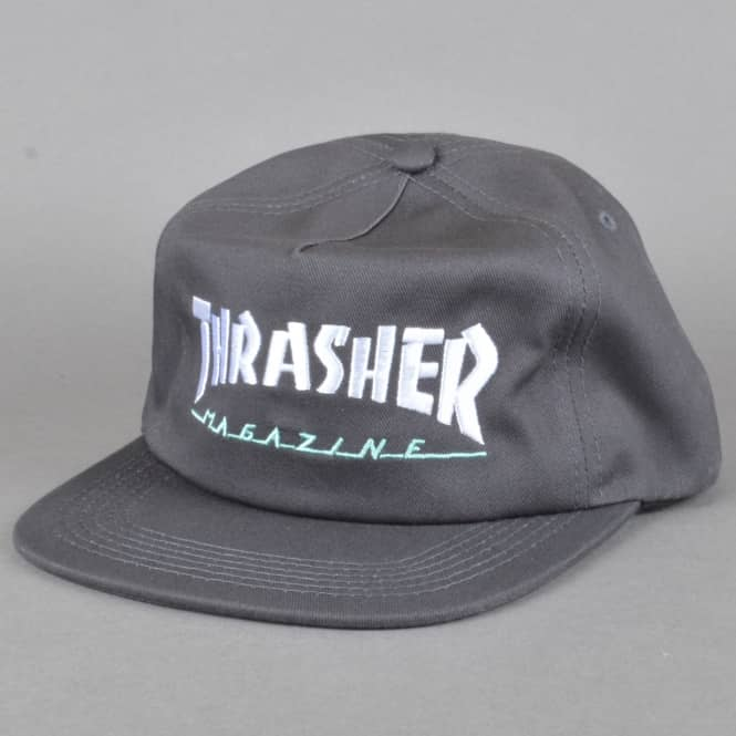 b8e9ead8c80 Thrasher Magazine Logo Two Tone Cap - Grey - SKATE CLOTHING from ...