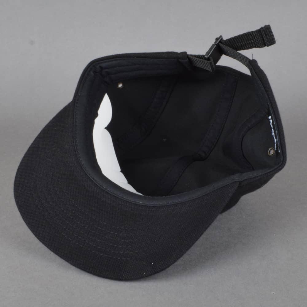 3fc78600dba Magenta Skateboards 5 Panel Pique Cap - Black - SKATE CLOTHING from ...
