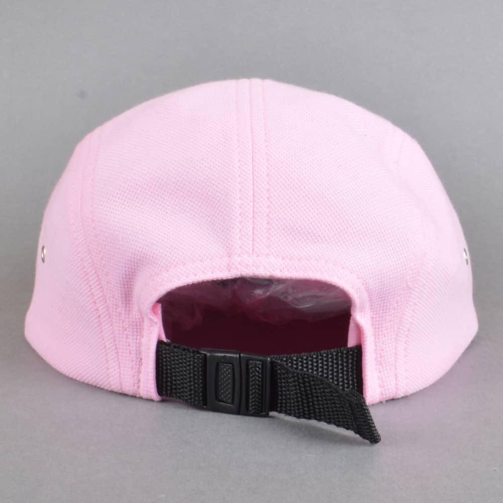 3c54ad60124 Magenta Skateboards Coton Pique 5 Panel Cap - Rose Pink - SKATE ...